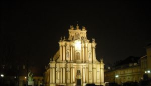 Pasterka u Sióstr Wizytek na Krakowskim Przedmieściu