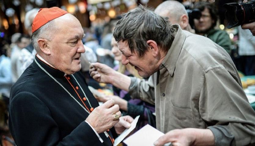 Kardynał Kazimierz Nycz na Boże Narodzenie 2019
