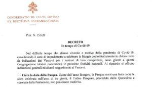Dekret Kongregacji o Triduum Paschalnym