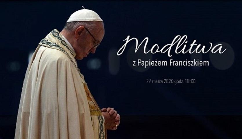 W piątkowy wieczór razem z papieżem Franciszkiem