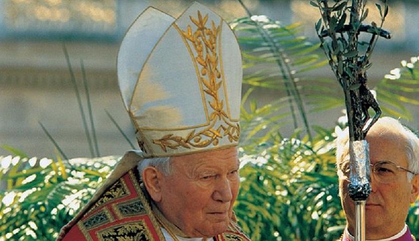 Św. Jan Paweł II na Niedzielę Palmową