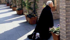 Św. Jan Paweł II na Wielką Sobotę