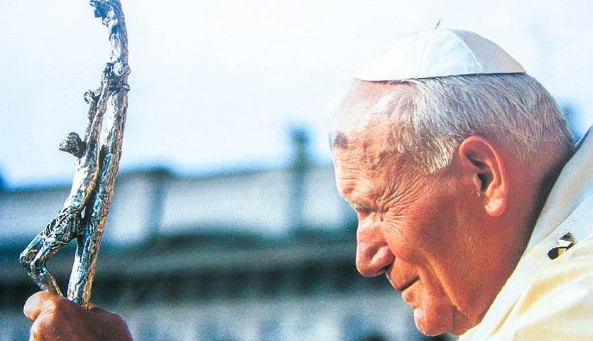 Św. Jan Paweł II na Wielkanoc