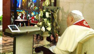 Św. Jan Paweł II na Wielki Piątek