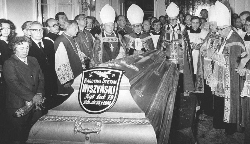 List na pogrzeb Prymasa Tysiąclecia w 1981 roku