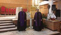Misja przed poświęceniem kościoła w Opocznie