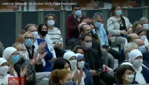 Audiencja środowa 28.10.2020