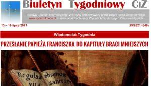 Read more about the article Biuletyn Tygodniowy CIZ 2020 w bibliotekach
