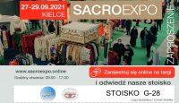Przygotowania do SACROEXPO: zaproszenie i karty parkingowe